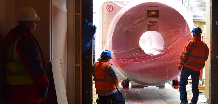 Ohba receives its new fmri scanner