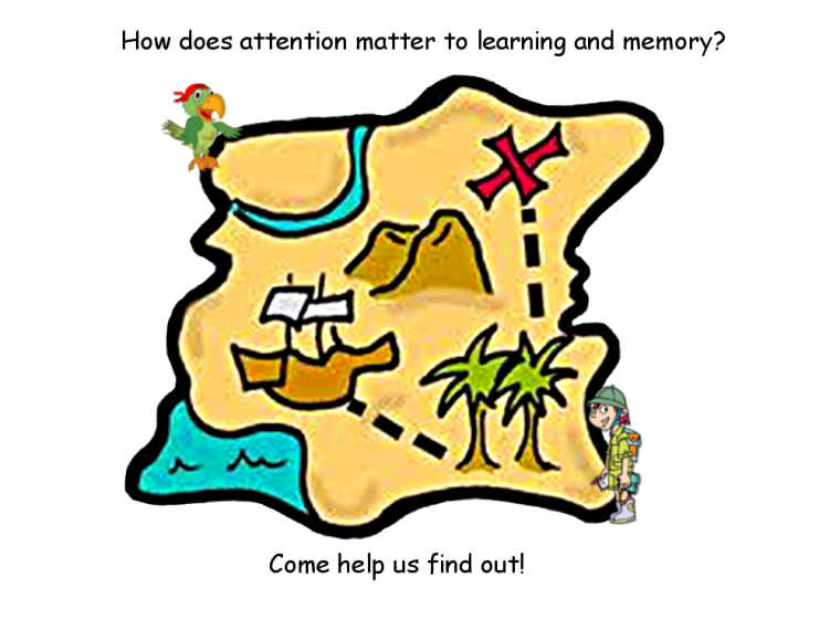 How does attention matter to learning and memory