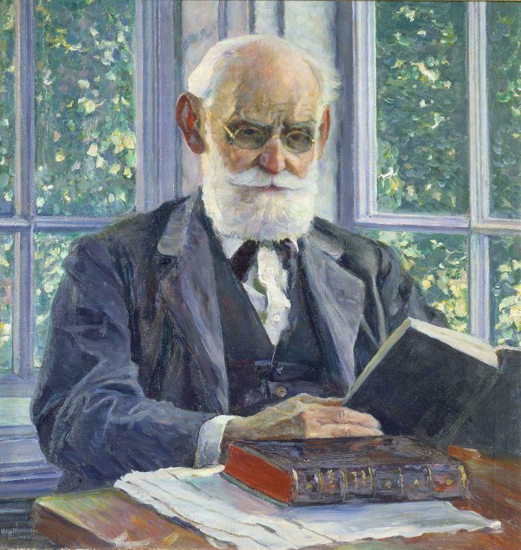 Ivan Petrov Pavlov (1930 by Nesterov, Mikhail, 1862-1942).