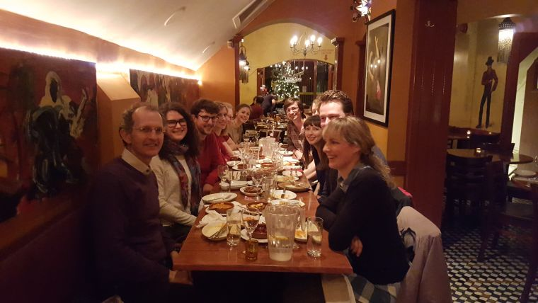The members of The Oxford Centre for the Study of Intergroup Conflict December 2015