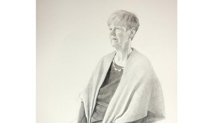 Professor dorothy bishop celebrated in portrait