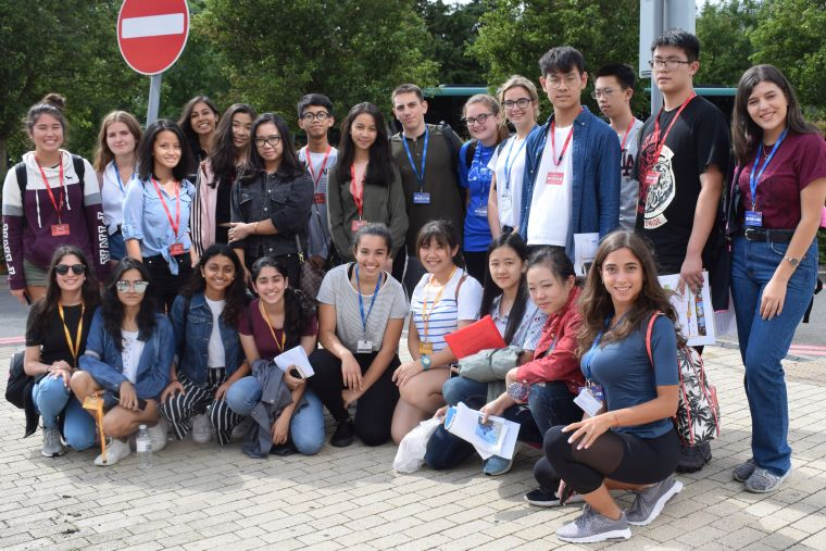 London international youth science forum group photo