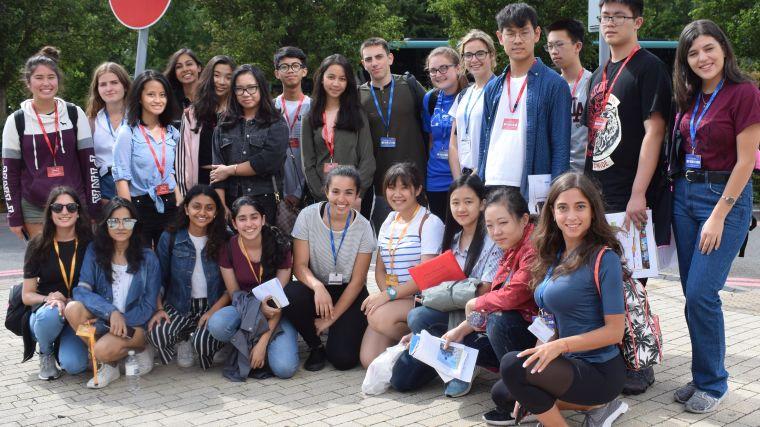 London international youth science forum visits oxford neuroscience