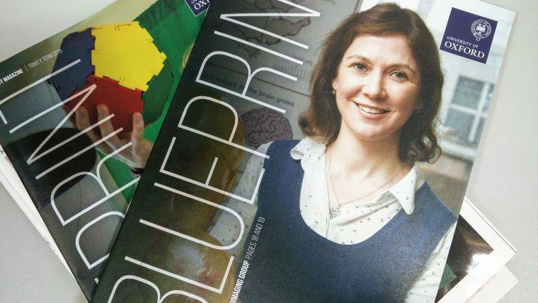 Blueprint magazine features paediatric research