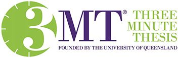 Logo of the Three minute Thesis Competition