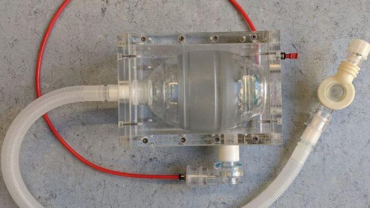 Prototype OxVent ventilator