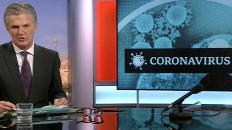 BBC news presenter