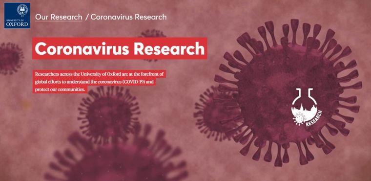 An online fundraising appeal for coronavirus (COVID-19) research at Oxford has raised more than £50,000 (and counting) from over 200 individuals after launching just two weeks ago. The donations will be deployed immediately, boosting projects ranging from vaccine development to the delivery of new drugs to treat the virus.
