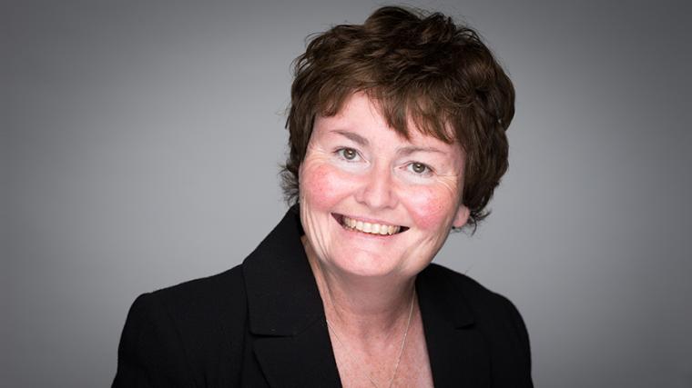 Horizontal portrait of Professor Fiona Powrie