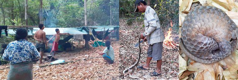 3 photos relating to Cambodia