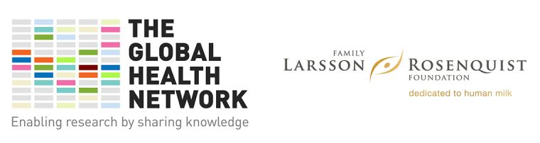 Logos: TGHN and the Family Larsson Rosenquist Foundation