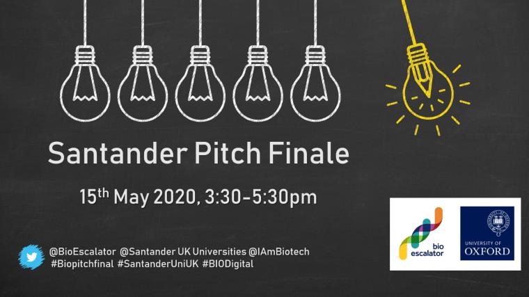 Santander pitch finale poster