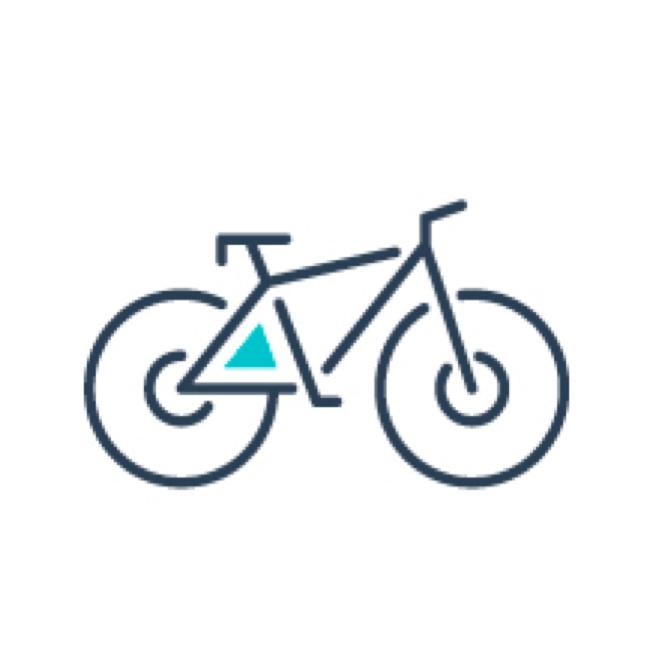 Bike storage icon