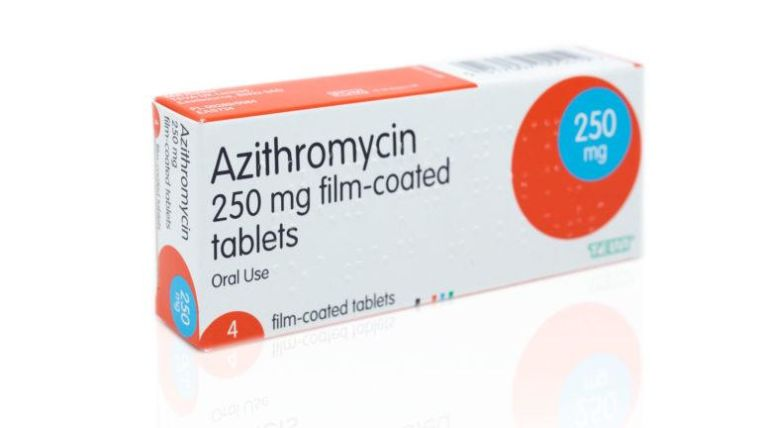 Azithromycin 250mg film-coated tablets packet