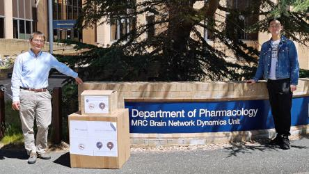 Oxford Pharmacology receives donation of PPE