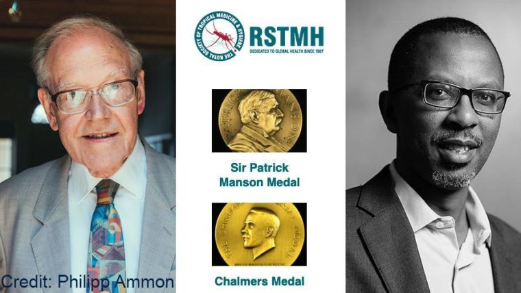 Oxford tropical medicine awarded two rstmh medals