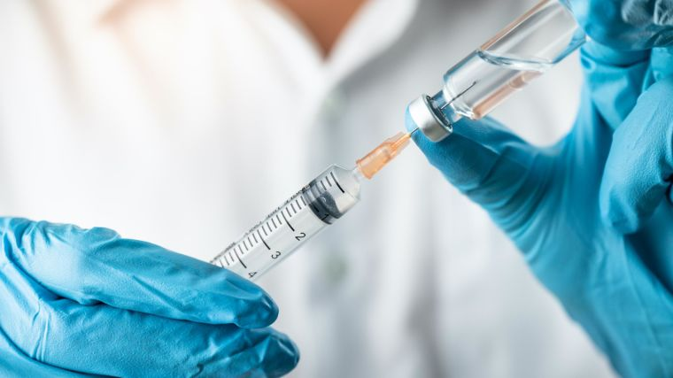 Vaccine shot for drug trial