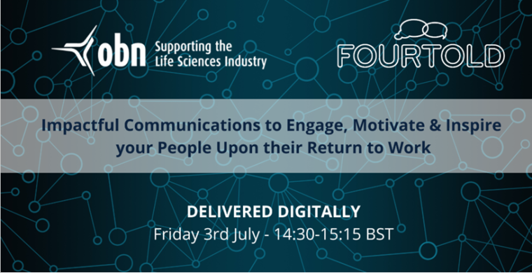 OBN Impactful Communications to Engage, Motivate & Inspire your People upon their Return to Work'