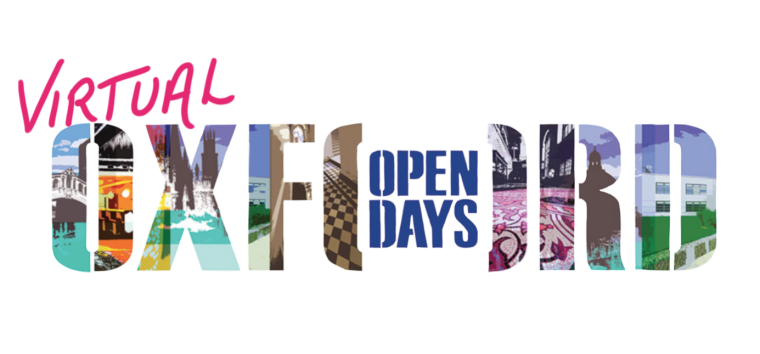 Logo for Virtual Open Days