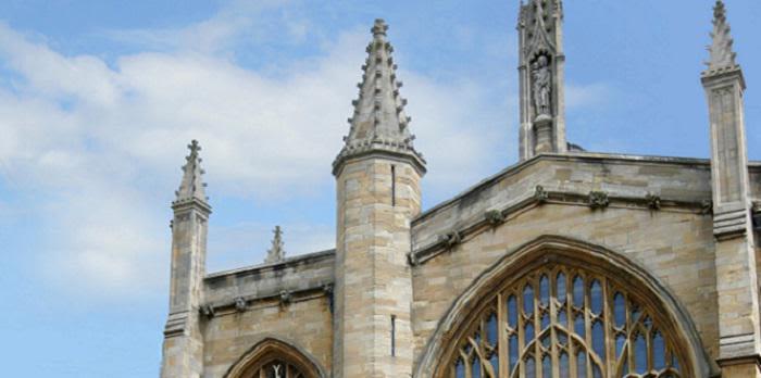 Oxford University building.