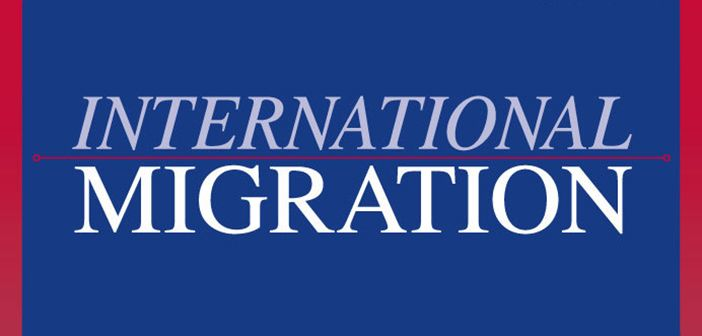 International Migration journal cover