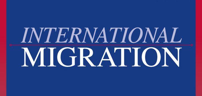 International Migration journal cover