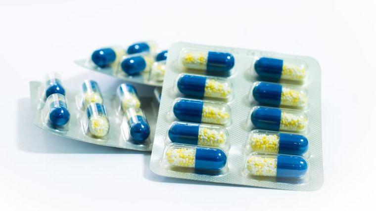 Drugs in blister packaging