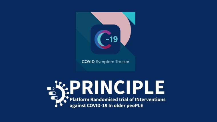 COVID Symptom Tracker and PRINCIPLE