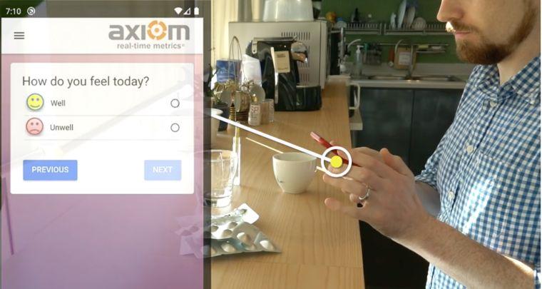 COPCOV participants will use a mobile app