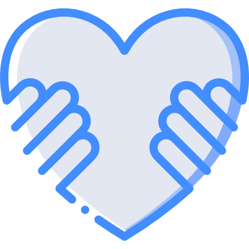 Hands on heart author Smashicons