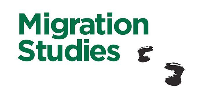 Migration Studies journal name and footprint logo
