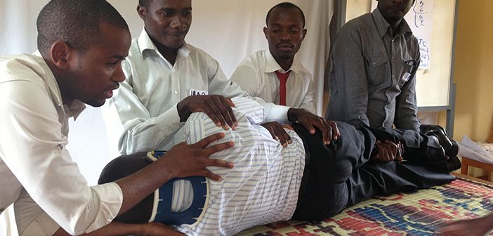 Primary Trauma Care Training in Rwanda