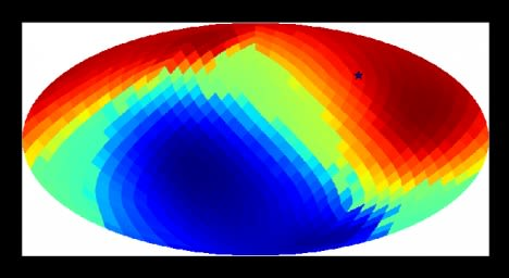 An image of the cosmic microwave background