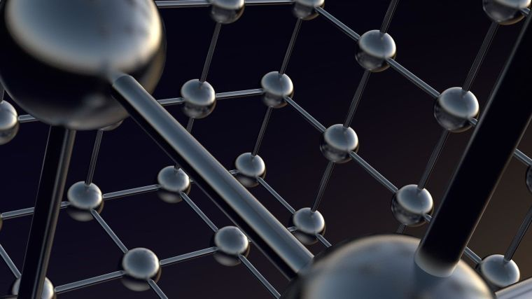 A structure of atoms