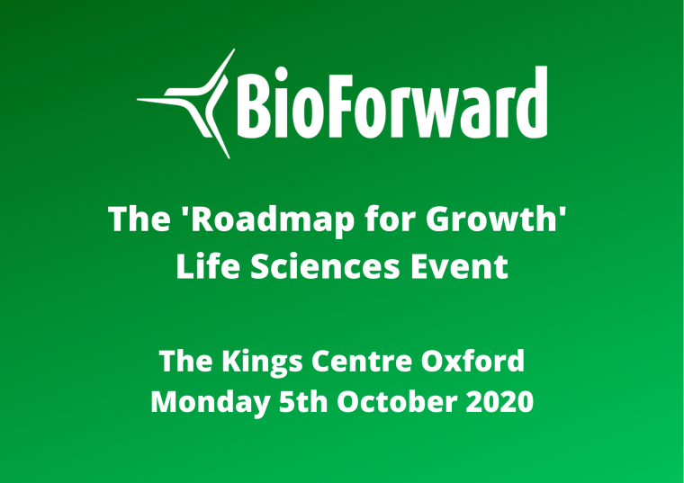 This image is advertising Bioforward 2020