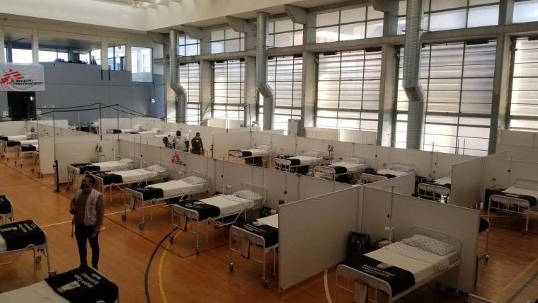 Image of field hospital - COVID-19 Khayelitsha Field Hospital