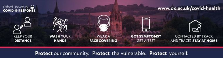 Steps to help you stay safe: keep your distance; wash your hands; wear a face covering; symptoms? Get a test; contacted by track and trace? Stay at home.