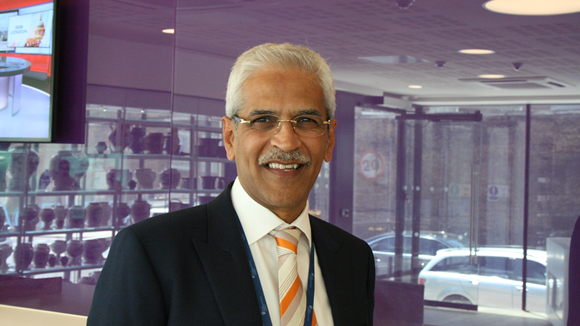 Portrait of Professor Mahendra Patel