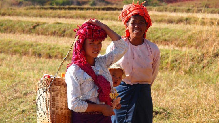 Myanmar women