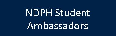 NDPH Student Ambassadors link