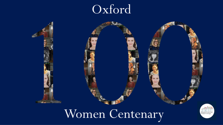 Experimental Psychology image for Centenary of Women campaign