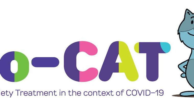 Co-CAT study logo with cat