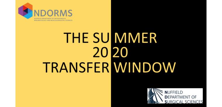The Summer 2020 Transfer Window banner