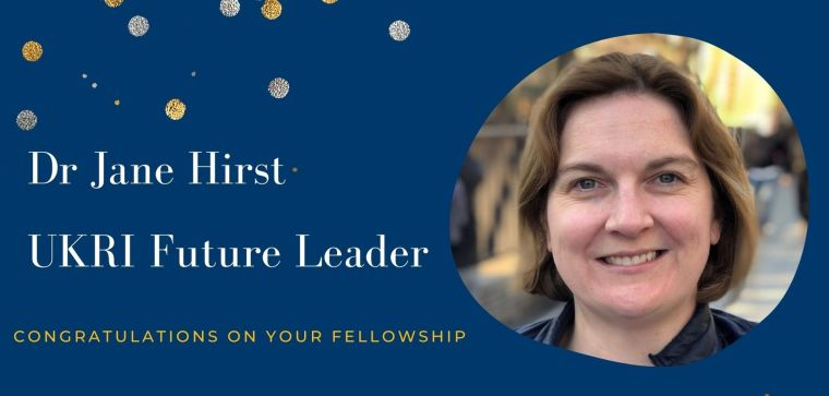 The department's senior fellow in perinatal health Dr Jane Hirst – who leads global research into gestational diabetes mellitus (GDM), preterm birth and stillbirth – has been awarded a Fellowship of the UK Research and Innovation (UKRI) Future Leaders. Congratulations!