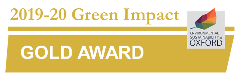 NUS Green Impact Gold award logo