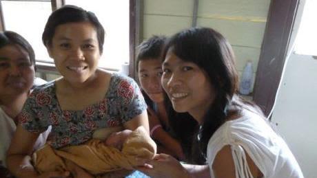 Nurses attending Birth attendant training