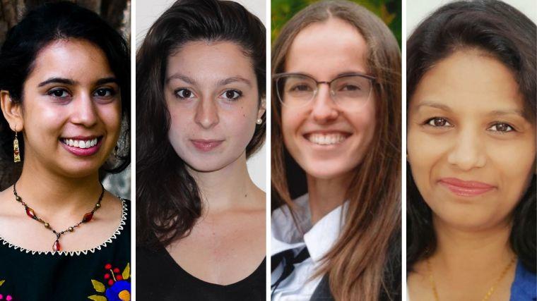 Antara Majumdar, Ester Paolocci, Naroa Ibarra-Aizpurua and Sonali Munshaw