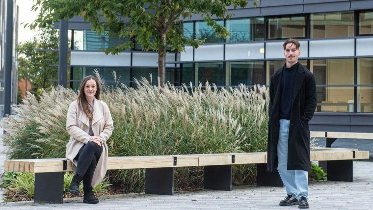 Bvlgari Scholars Rebecca Makinson and Cameron Bissett