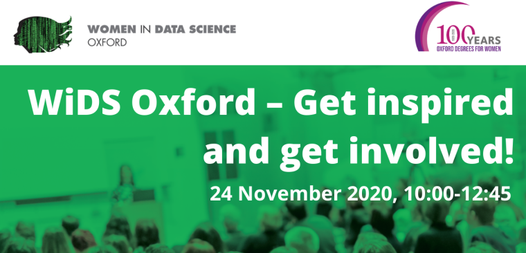 Women in Data Science at Oxford banner image