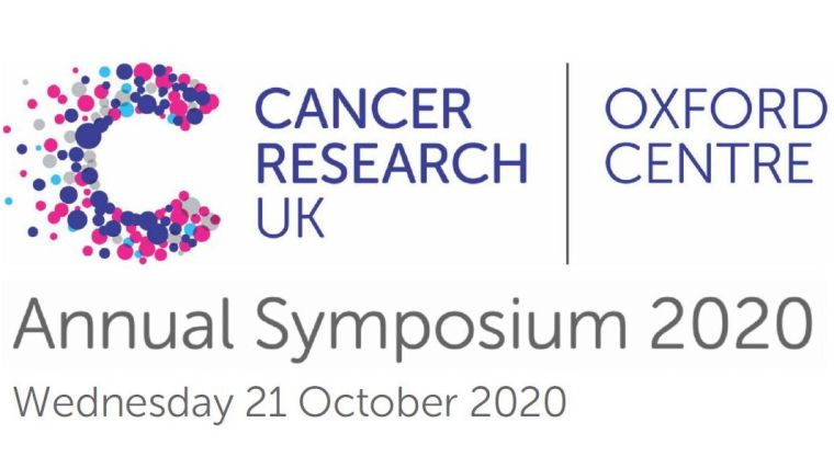 Branding for the Cancer Research UK Oxford Centre Annual Symposium - 21st October 2020